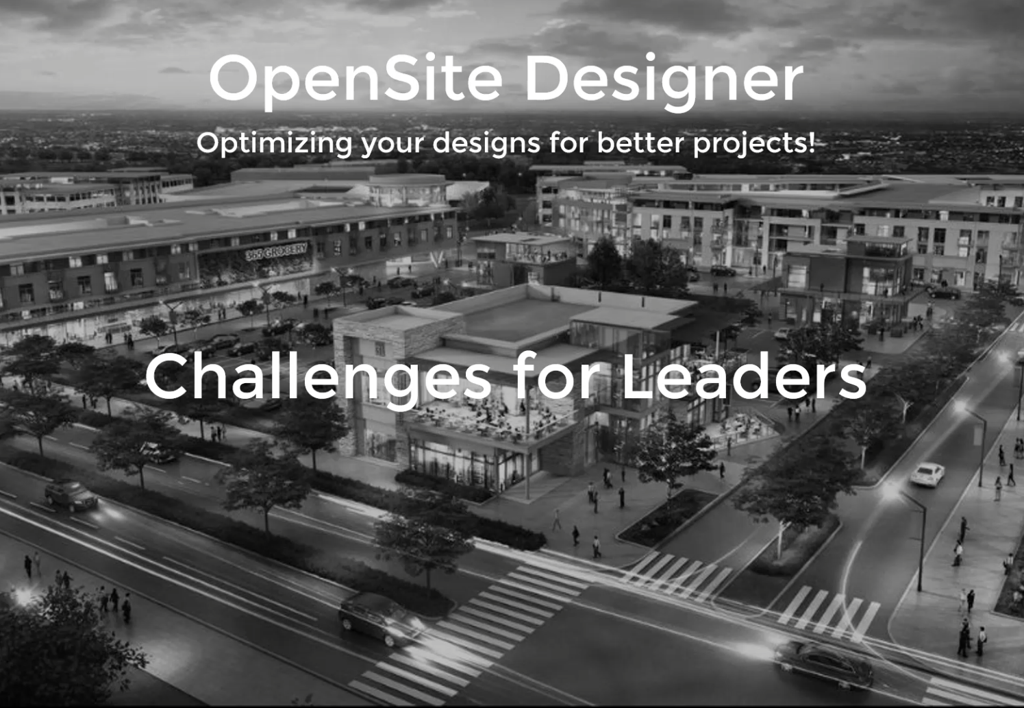 OpenSite Solving Challenges for Leaders