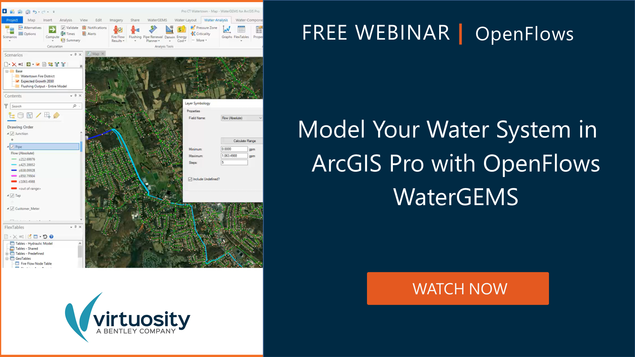 WaterGEMS and ArcGIS Pro Webinar